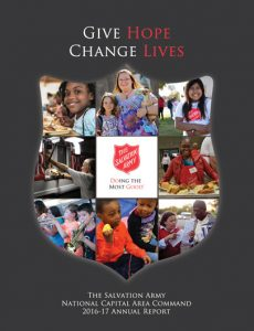 Click image to download the 2016-17 Annual Report for The Salvation Army National Capital Area Command.